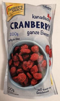 kanadische Cranberry, ganze Beeren - Product