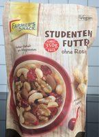 Farmer's Snack Studentenfutter Ohne Rosinen - Product - fr