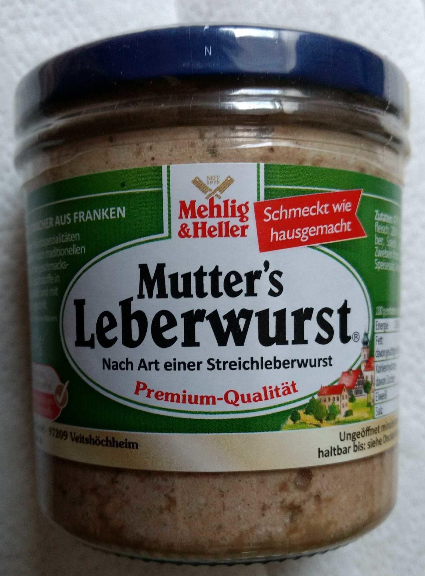Mutter's Leberwurst - Producto
