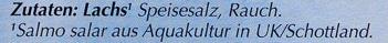 Schottischer Räucher Lachs - Ingrédients - de