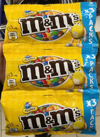 M&M's Peanut (x3 pack) - Produit - fr