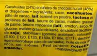 M&M's Peanut (x3 pack) - Ingredients