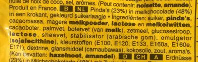 M&M's Peanut - Ingrediënten