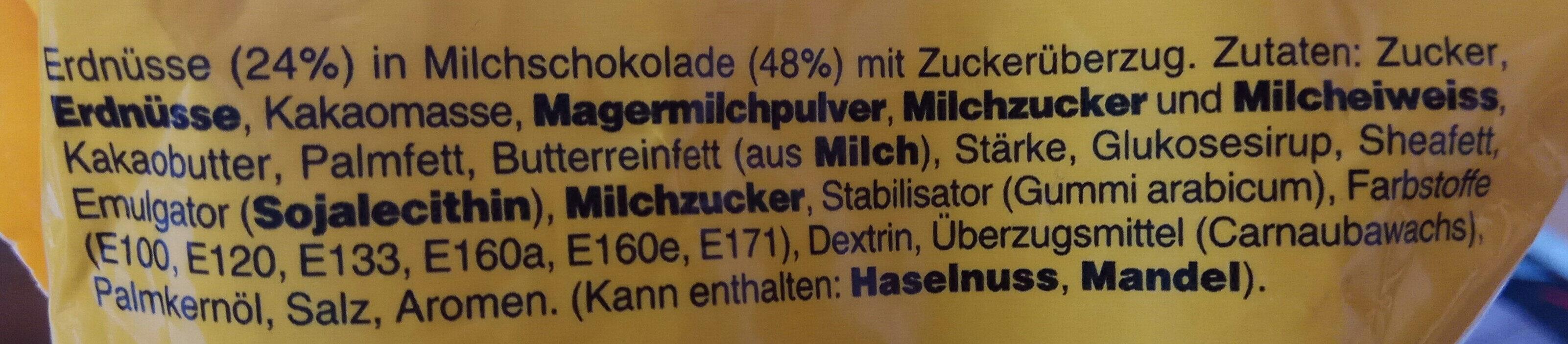 M&m's peanut - Zutaten - de