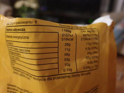 M&M's Arahide - Nutrition facts - en