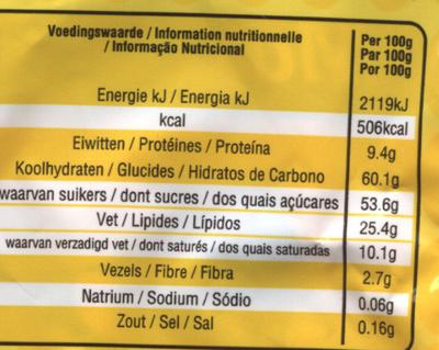 M&M's - Informations nutritionnelles - fr