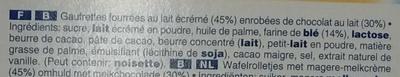 Crispy Rolls - Ingredienti - fr