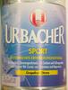 Urbacher Sport Grapefruit-Zitrone - Produkt