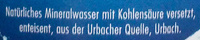 Urbacher classic - Inhaltsstoffe