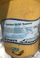 Gambas 50/60 «Kashmir» - Produit