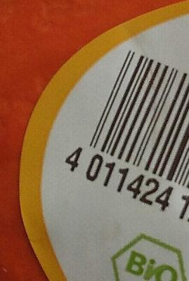 Bio-Hakkaido-Kürbis - Wiederverwertungsanweisungen und/oder Verpackungsinformationen - de