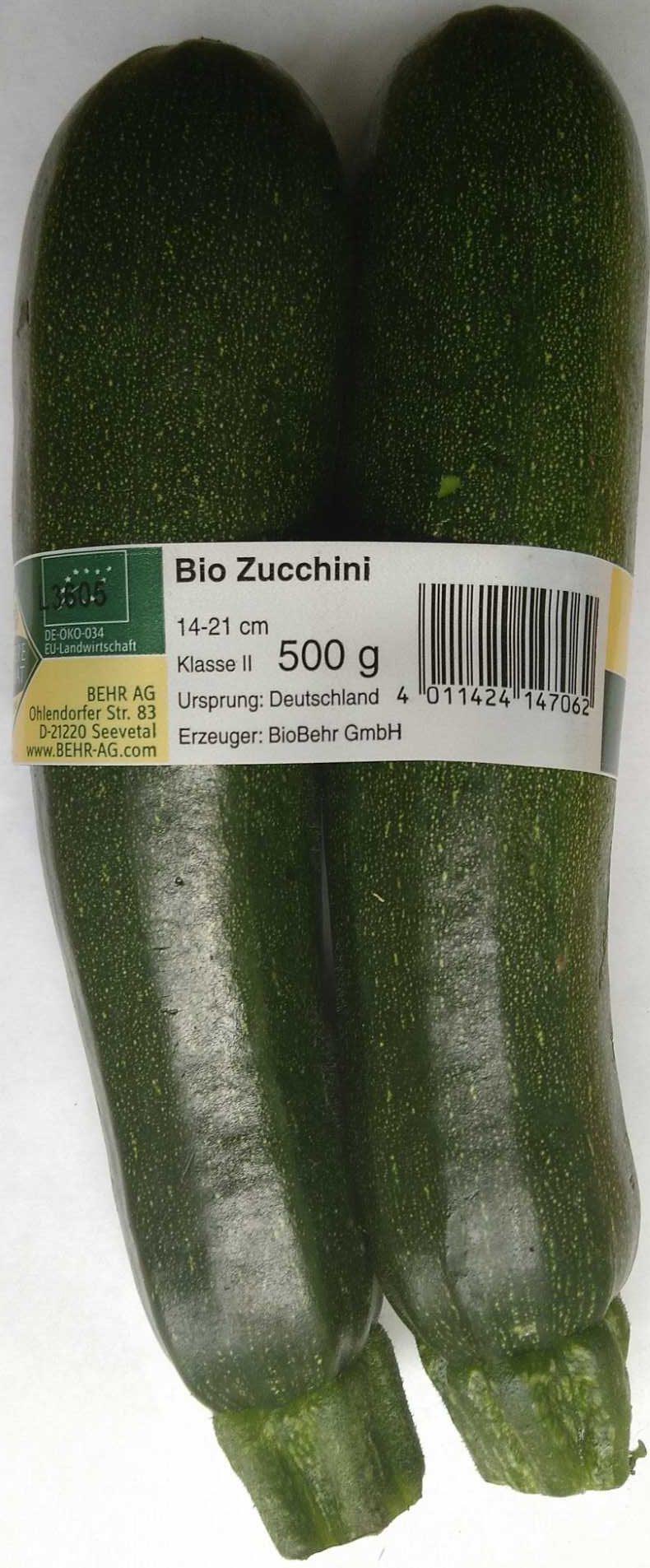 Bio Zucchini - Product