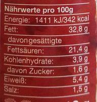 Paté vegano suave vitam - Nutrition facts