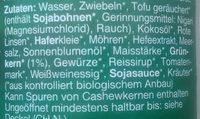 Wie Pfälzer Leberwurst - Ingrediënten - de