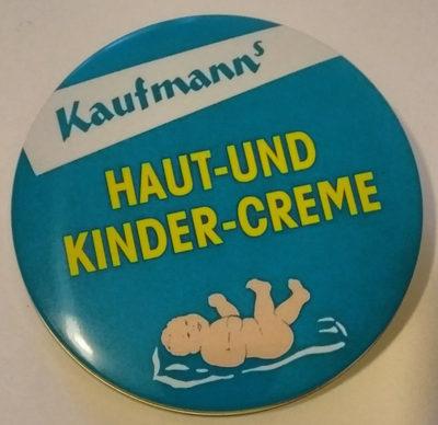 Kaufmanns Haut- und Kindercreme - Produkt