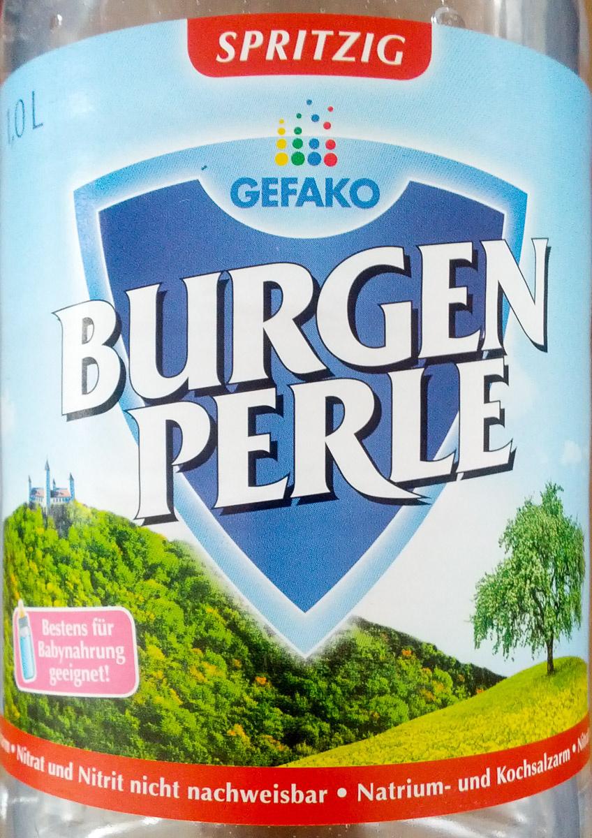 Burgenperle Spritzig - Produit