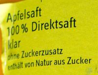 Apfelsaft - Inhaltsstoffe - de