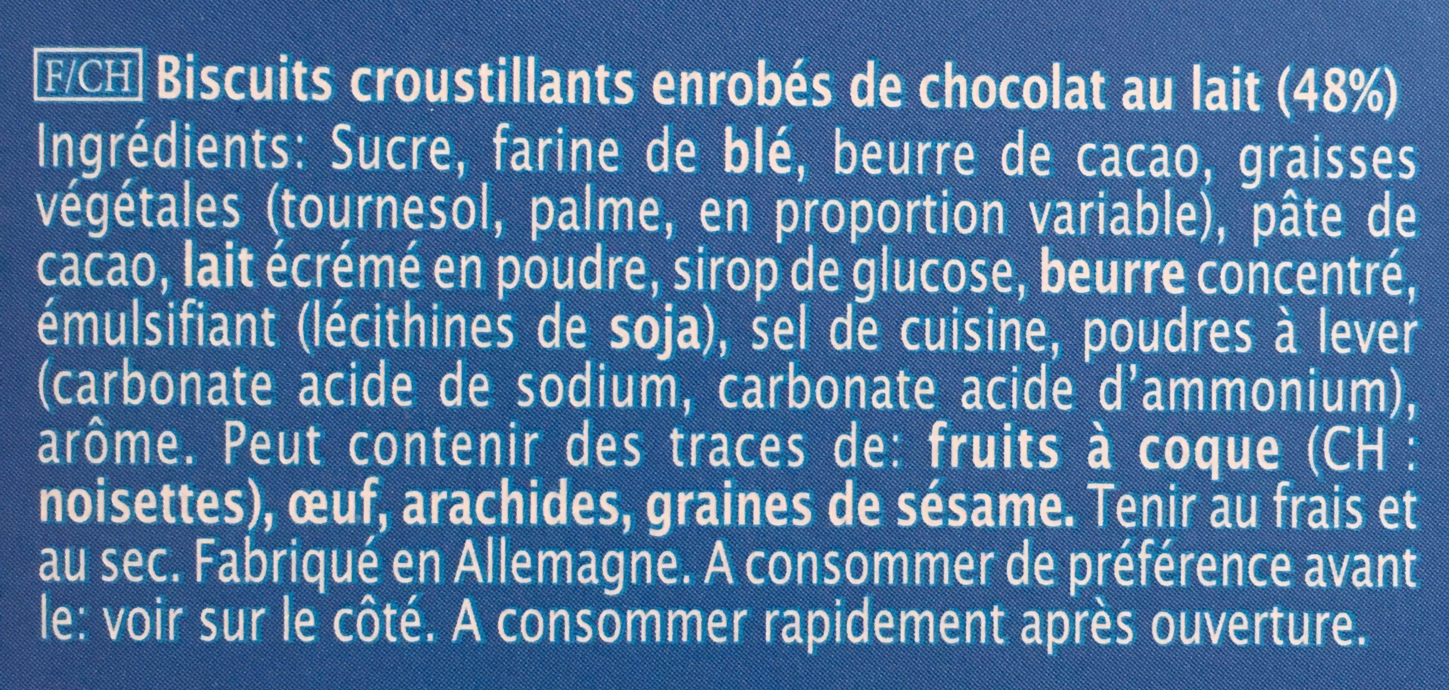 Choco Batonnets - Ingrédients - fr