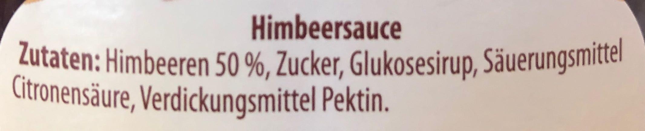 Sauce Himbeere - Zutaten - de