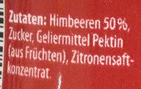 Samt Himbeere - Ingredients - de