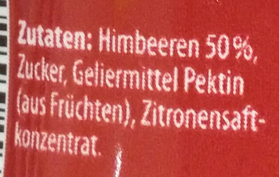 Samt Himbeere - Ingredients - de