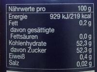 Gourmet-Frühstück Erdbeere - Informations nutritionnelles - de