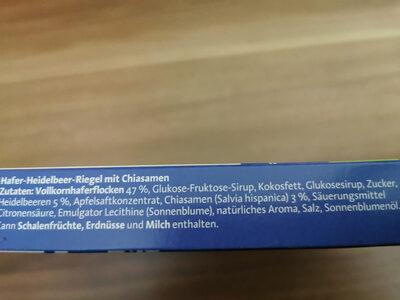 Corny Haferkraft - Ingredients