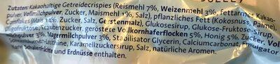 Riegel, Milch - Ingrediënten - de