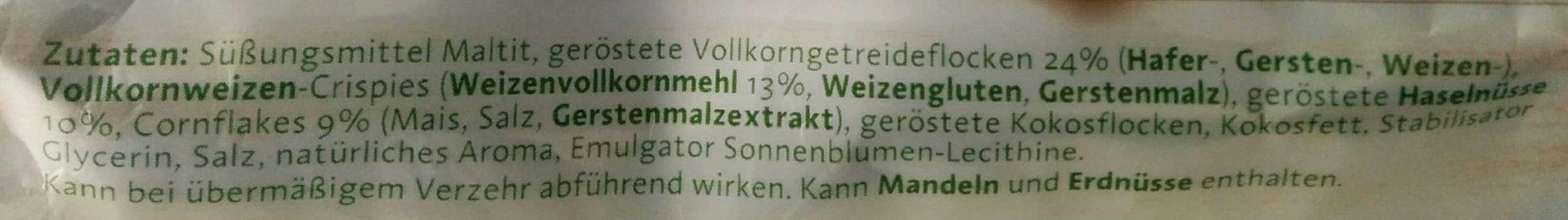 Haselnuss - Ingredients - de