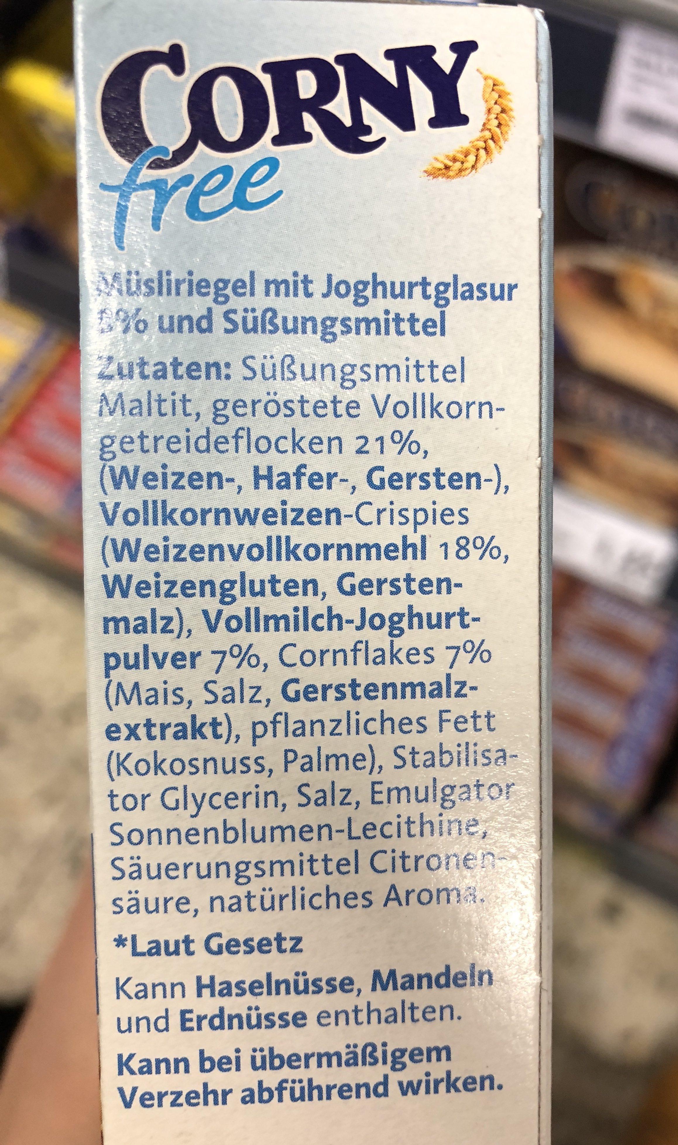 Corny Johgurt - Ingredients - de