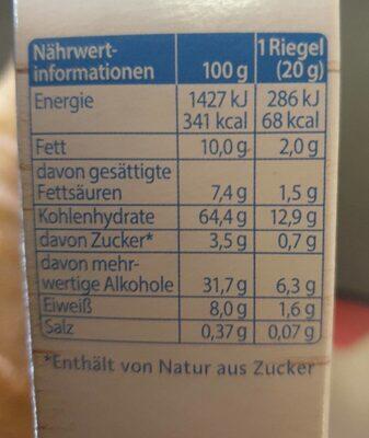 Corny Johgurt - Nutrition facts - de