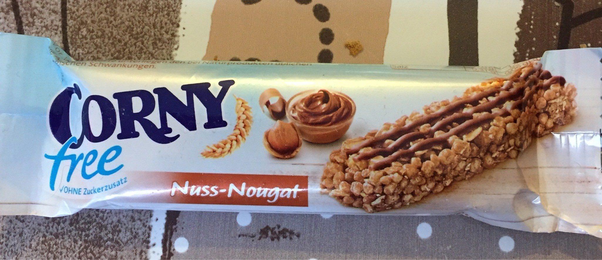 Corny Free, Nuss Nougat - Product - fr