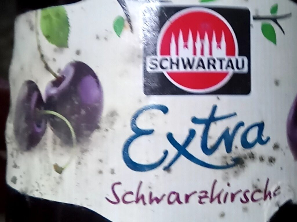 Confiture Extra Schwarzkirsche - Produkt - de