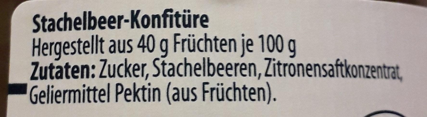 Extra, Stachelbeere - Zutaten - de