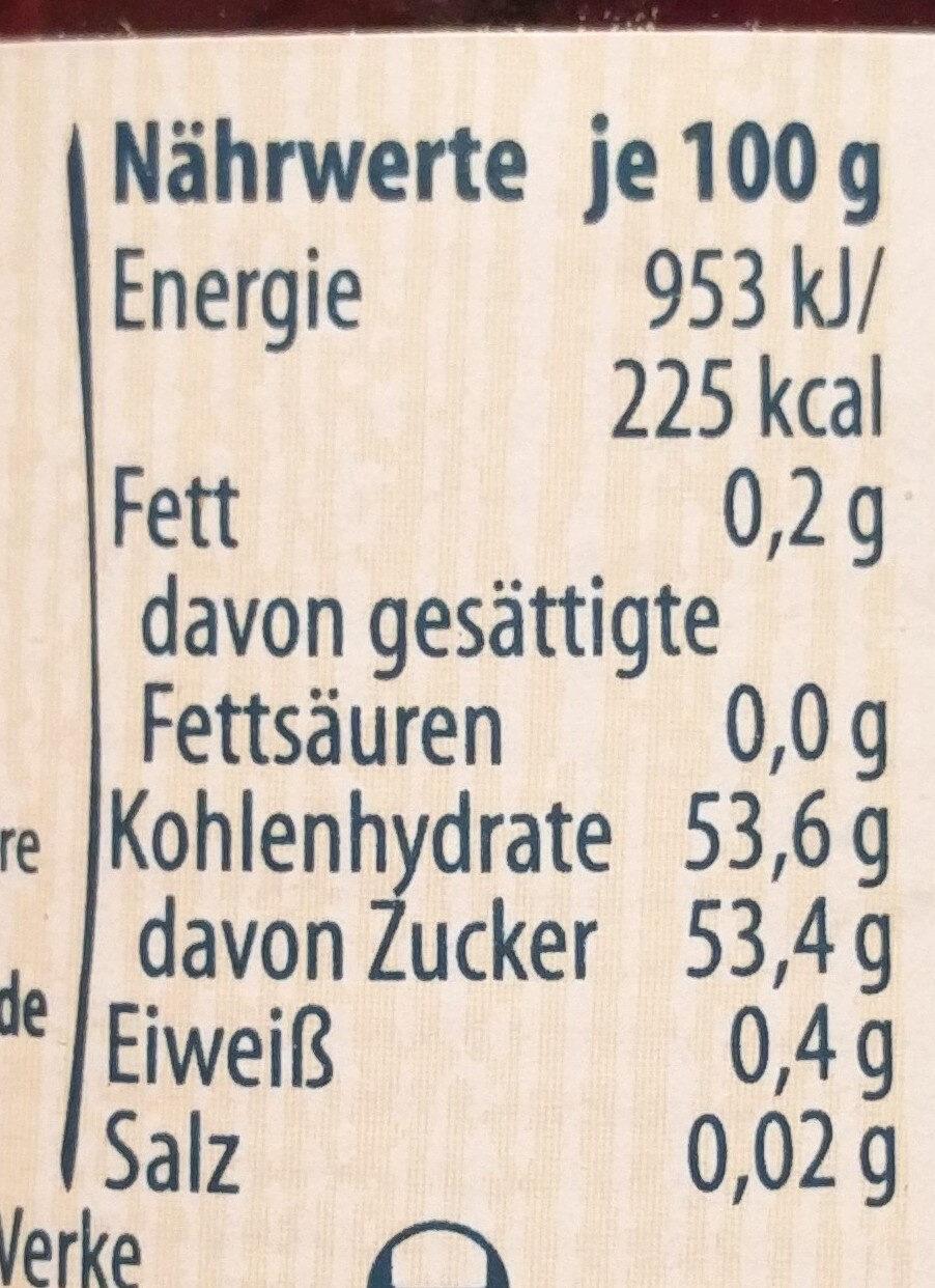 Extra Waldfrucht - Informations nutritionnelles - de