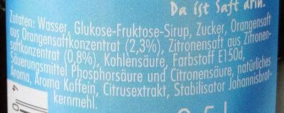 Spezi - Ingredients