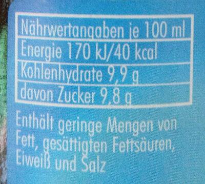 Spezi - Nutrition facts