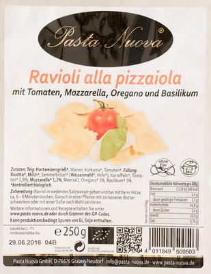 Ravioli alla pizzaiola - Produkt