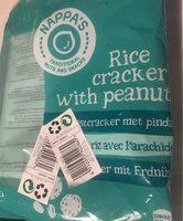Rice cracker with peanuts - Produit