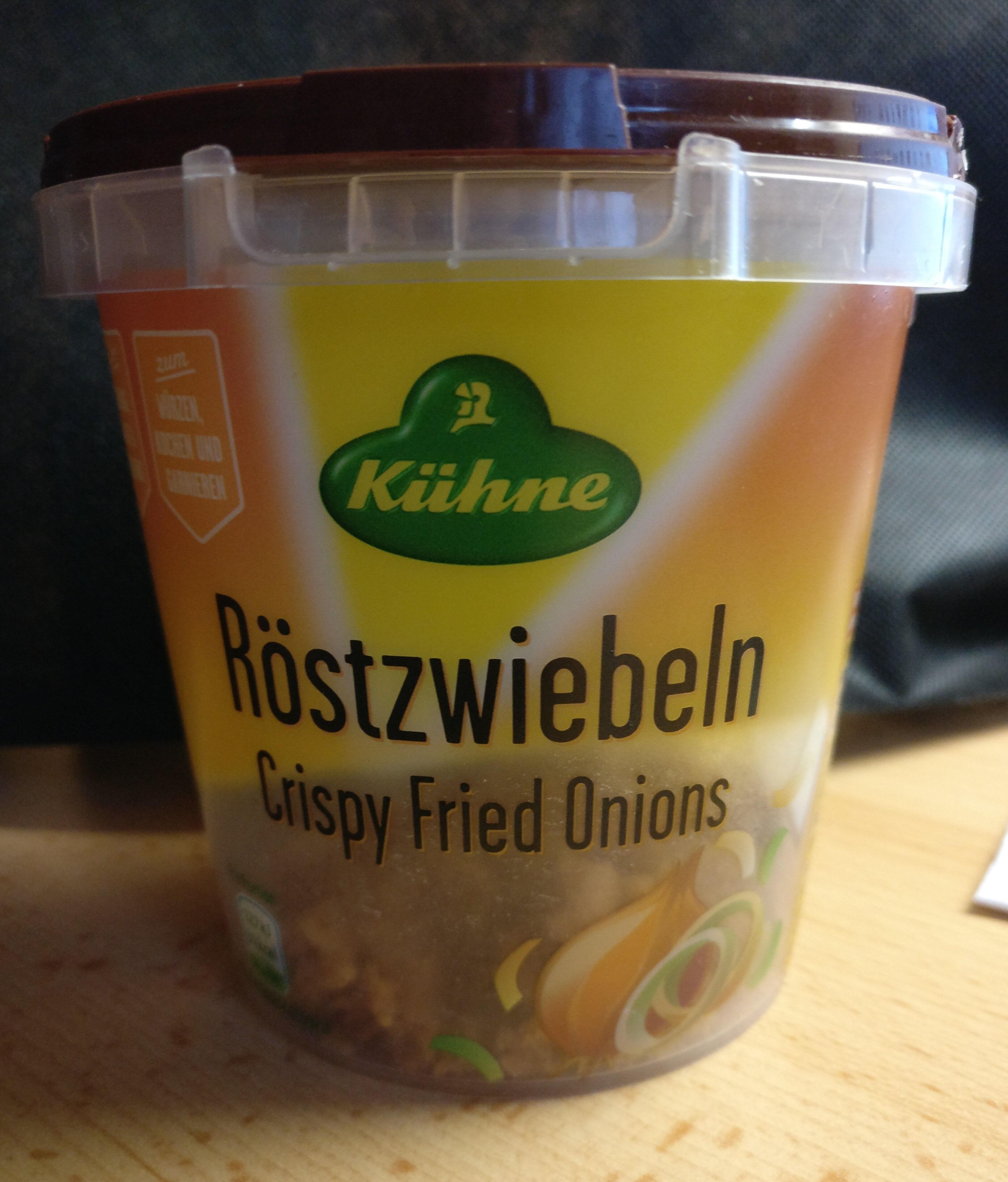 Oignons frits - Produkt - de