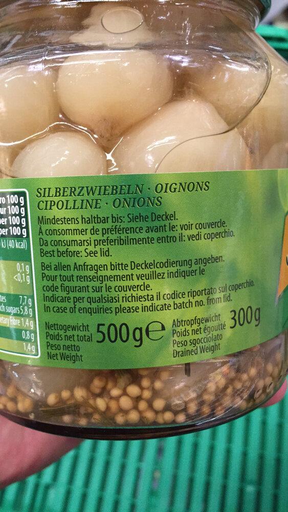 Kiihne Gourmet Selection Oignons épicés - Product
