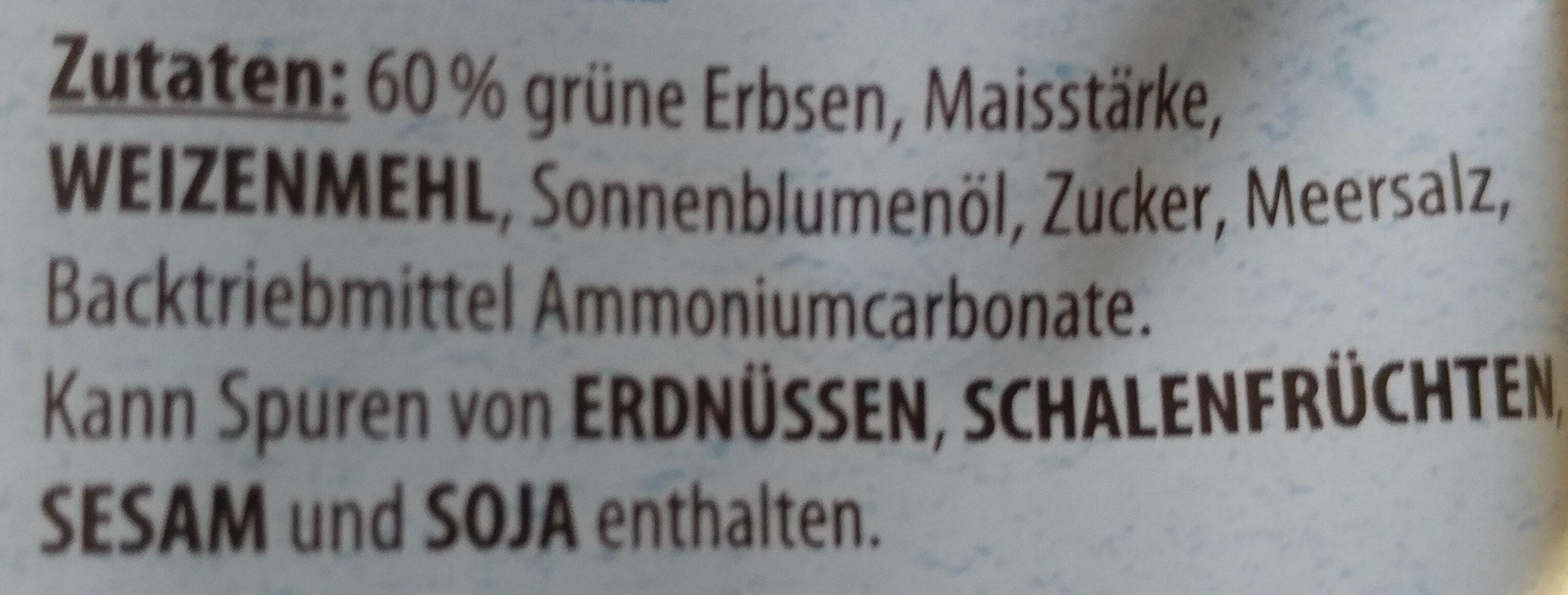 Knusper Erbsen - Ingredienti - de