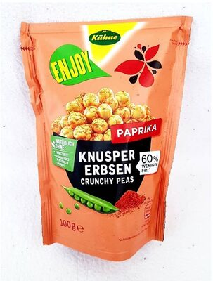 Knusper Erbsen - Paprika - Prodotto - de