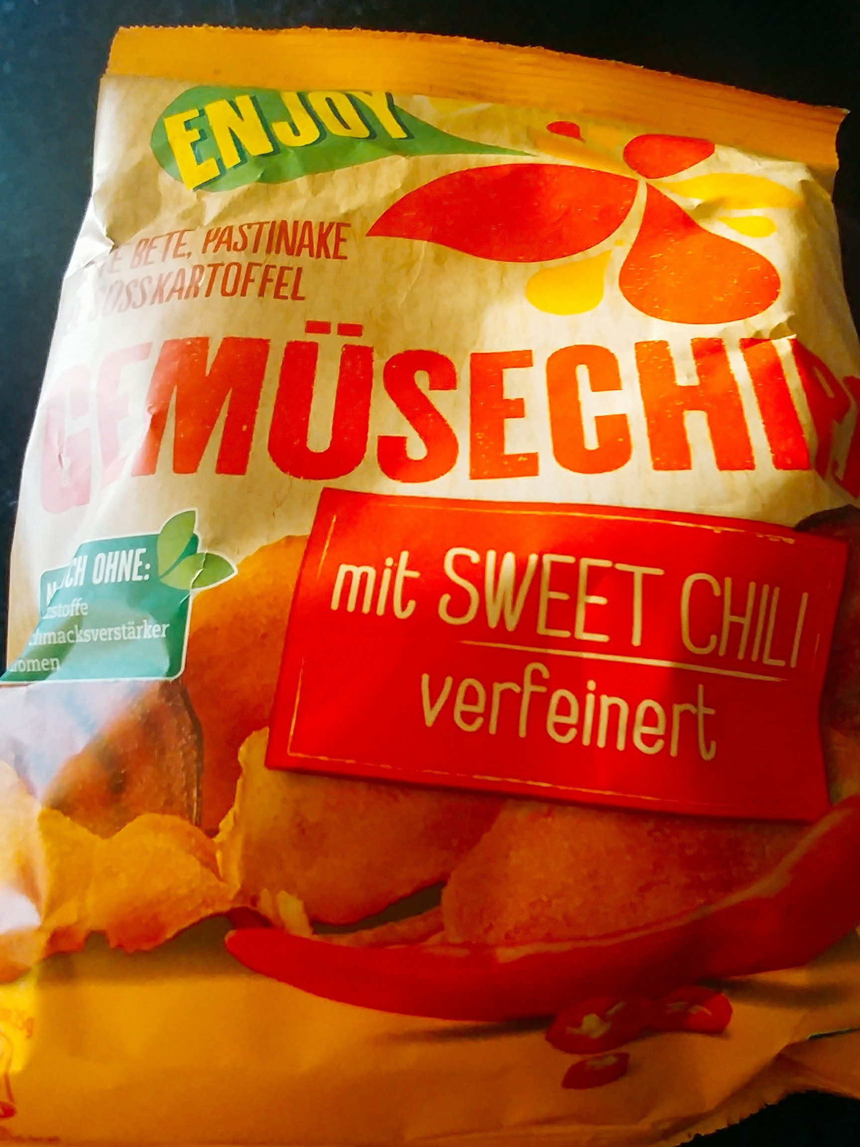 Gemüsechips Sweet Chili - Product