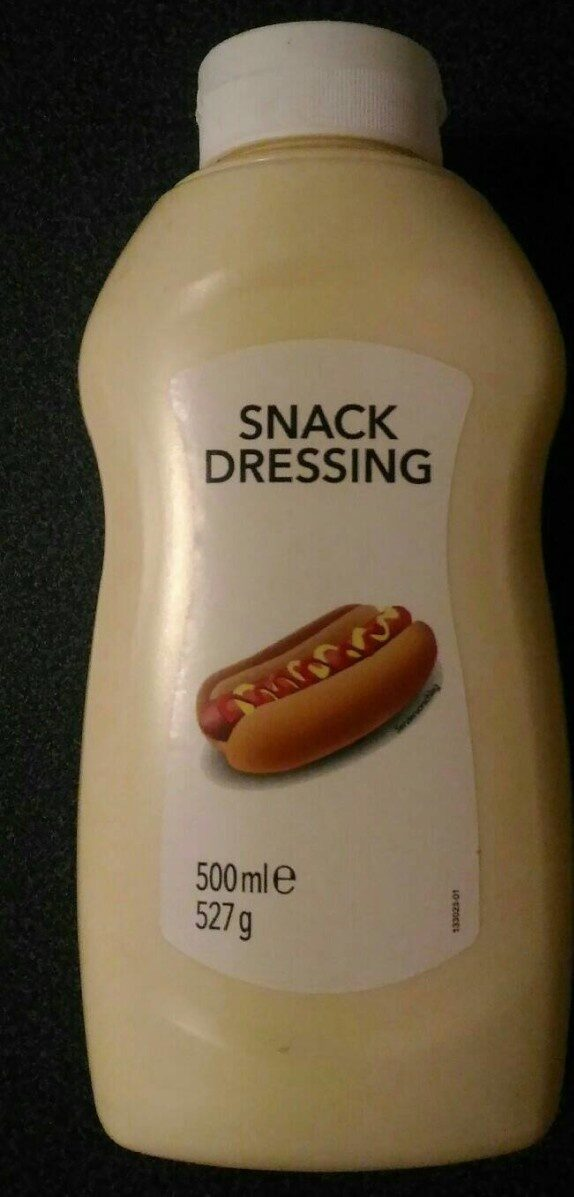 Snack Dressing Hot Dog Sauce - Product
