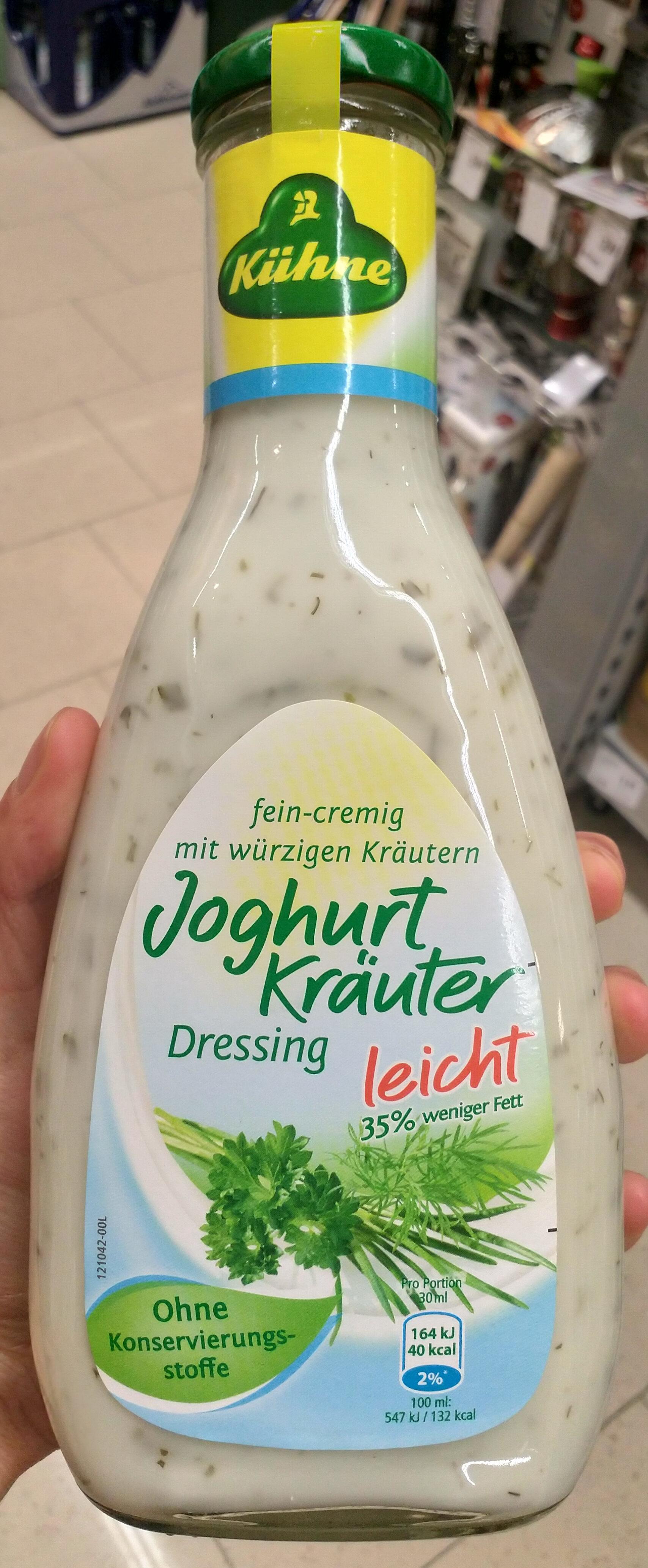 Salatfix, Joghurt Kräuter Dressing Leicht - Produkt - de