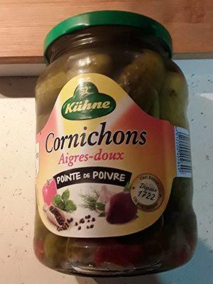 Cornichons Recette Paysanne Aigres-Doux - Produit - fr