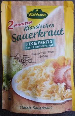 Klassisches Sauerkraut - Produit
