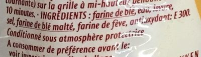 2 Baguettes - Ingredients