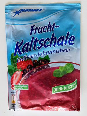 Frucht-Kaltschale Erdbeer-Johannisbeer - Produit - de